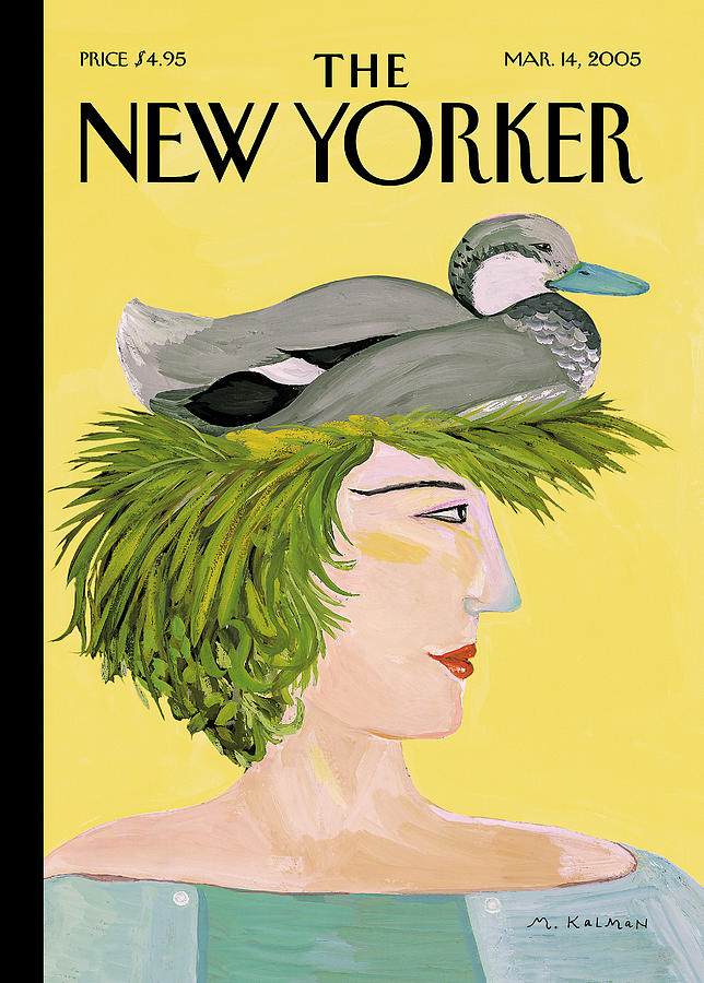 New Yorker March 14th, 2005 Painting by Maira Kalman