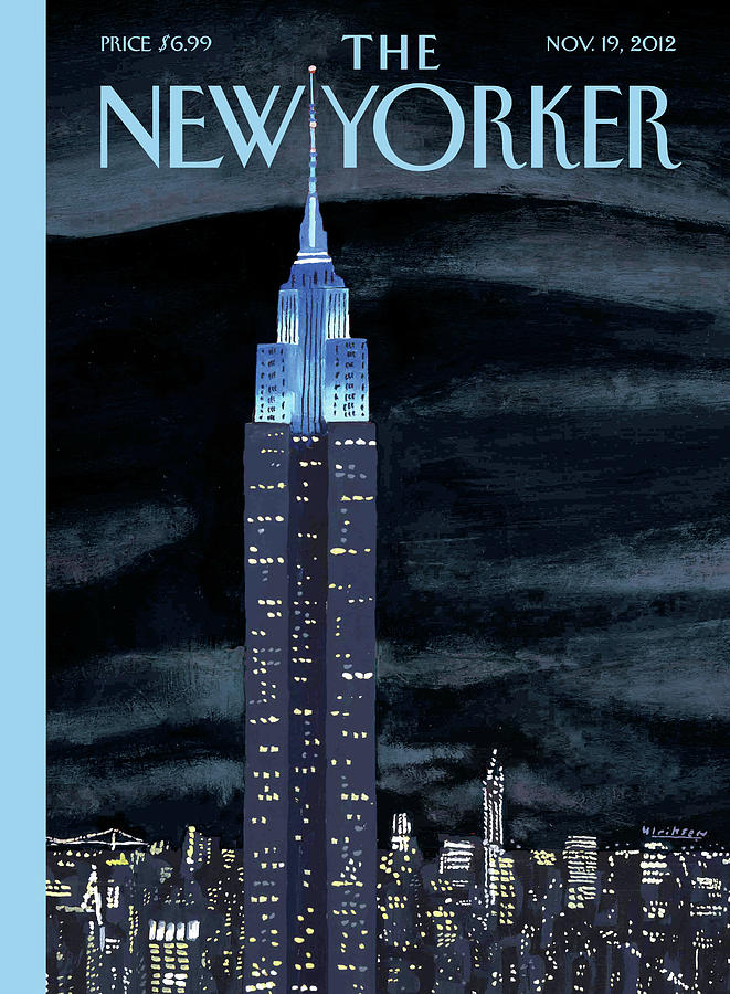 New Yorker November 19th, 2012 Painting by Mark Ulriksen