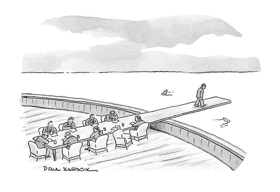New Yorker January 21st, 2008 Drawing by Paul Karasik