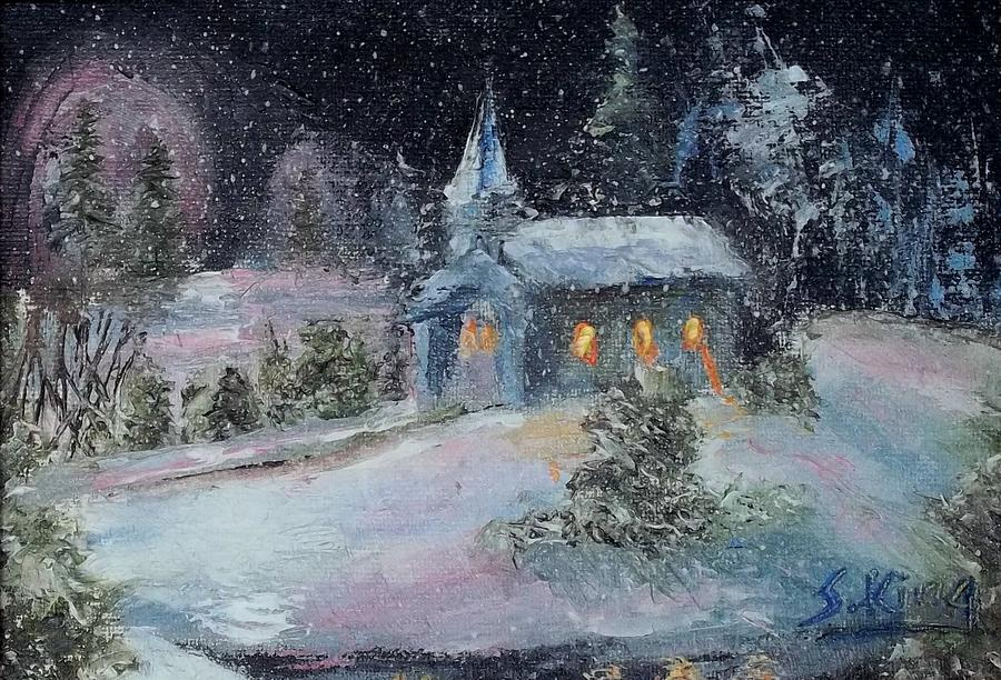 Night Painting - Untitled 2 by Stephen King