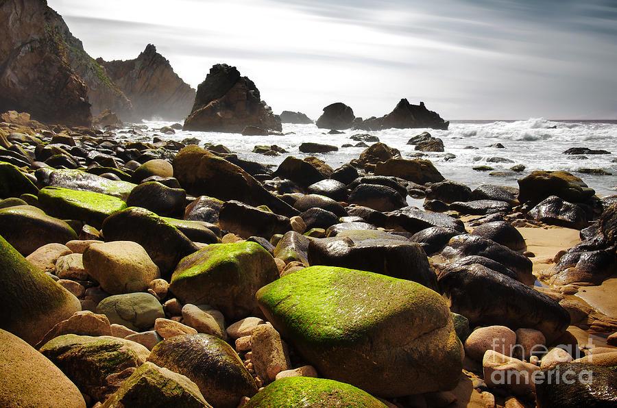 Abstract Photograph - Ursa Beach by Carlos Caetano