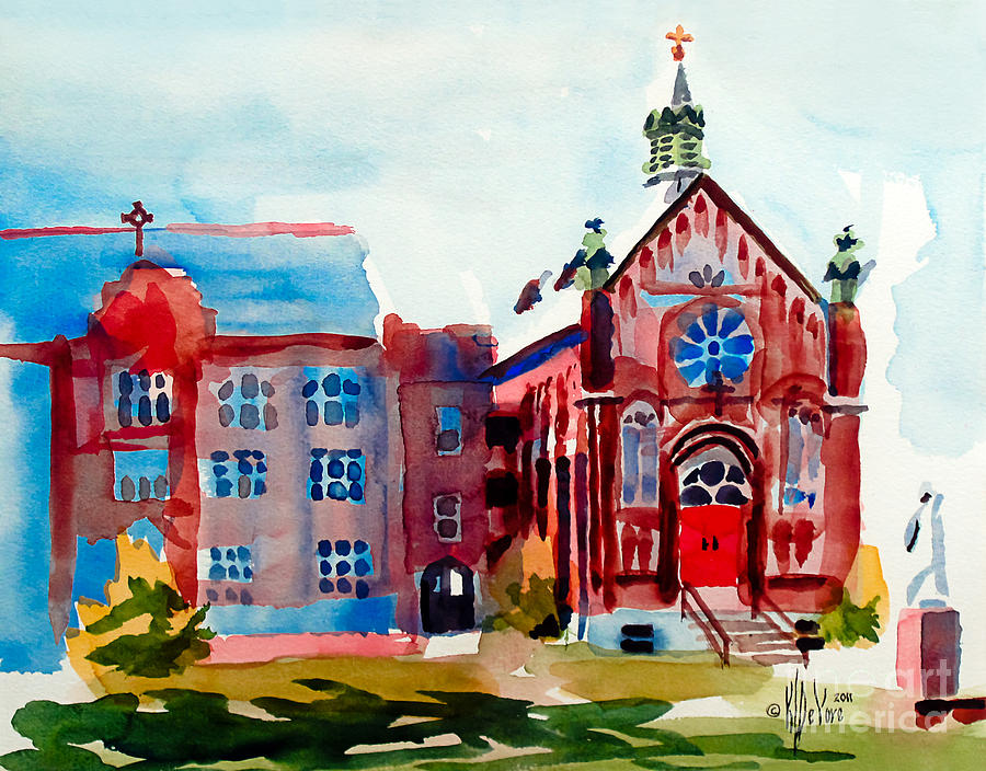 Mo Painting - Ursuline Academy II by Kip DeVore