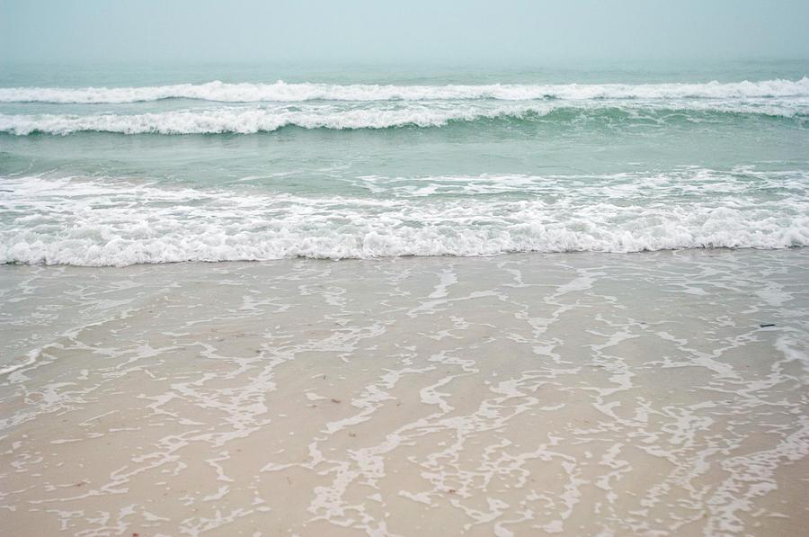 America Photograph - Usa, Florida, Sarasota, Crescent Beach by Bernard Friel