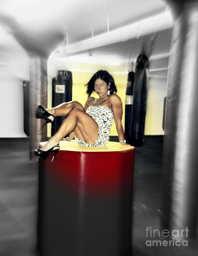 Pretty Woman Photograph - Vanessas Vision by Sue Rosen
