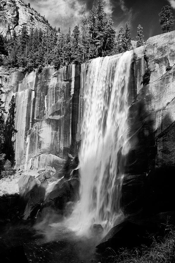 Water Photograph - Vernal Falls by Cat Connor
