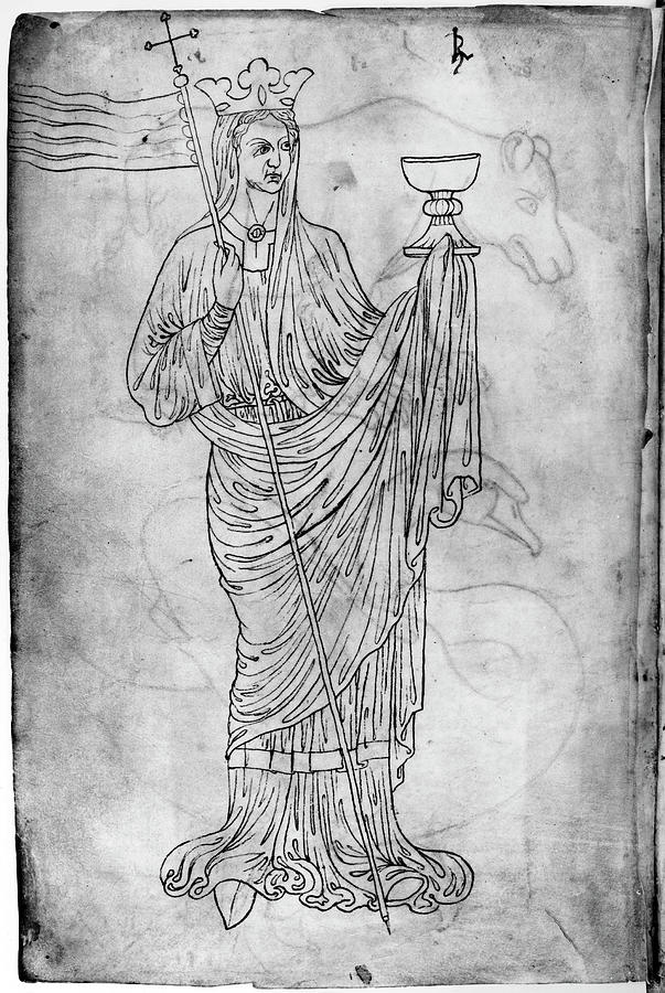1230 Drawing - Villard De Honnecourt (fl by Granger