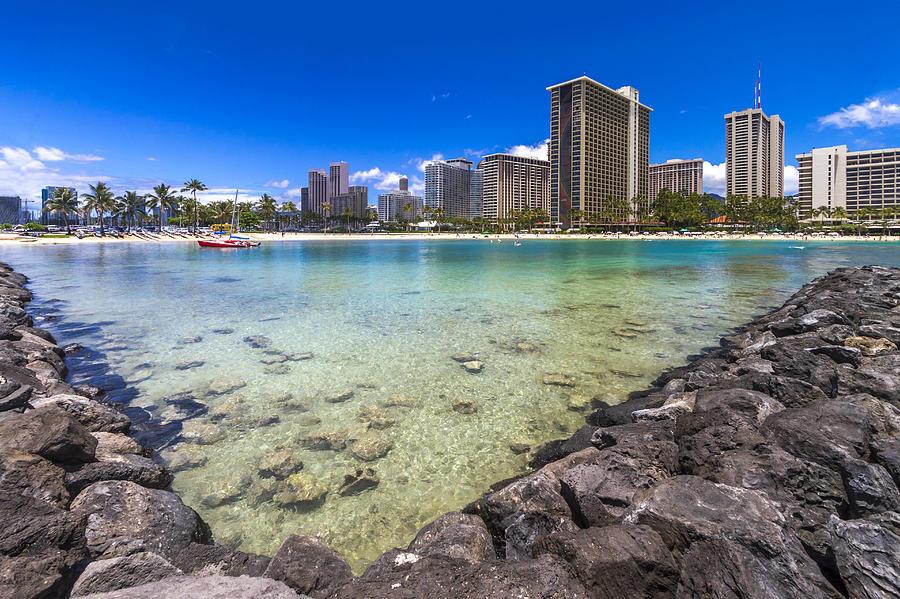 Waikiki Beach Hotels Condominiums Honolulu Hawaii