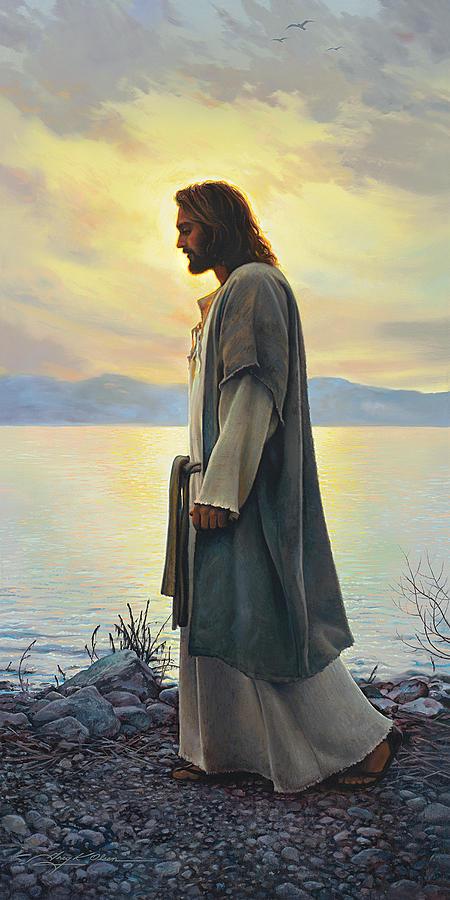 Jesus Painting - Walk With Me  by Greg Olsen