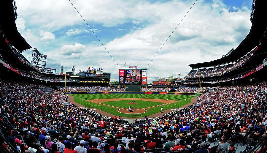 Washington Nationals V Atlanta Braves Photograph by Scott Cunningham