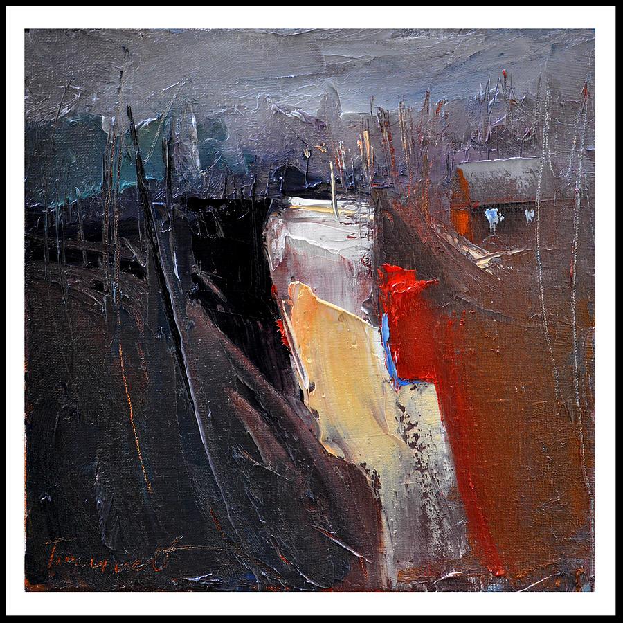 Way Home Serie Painting by David Figielek