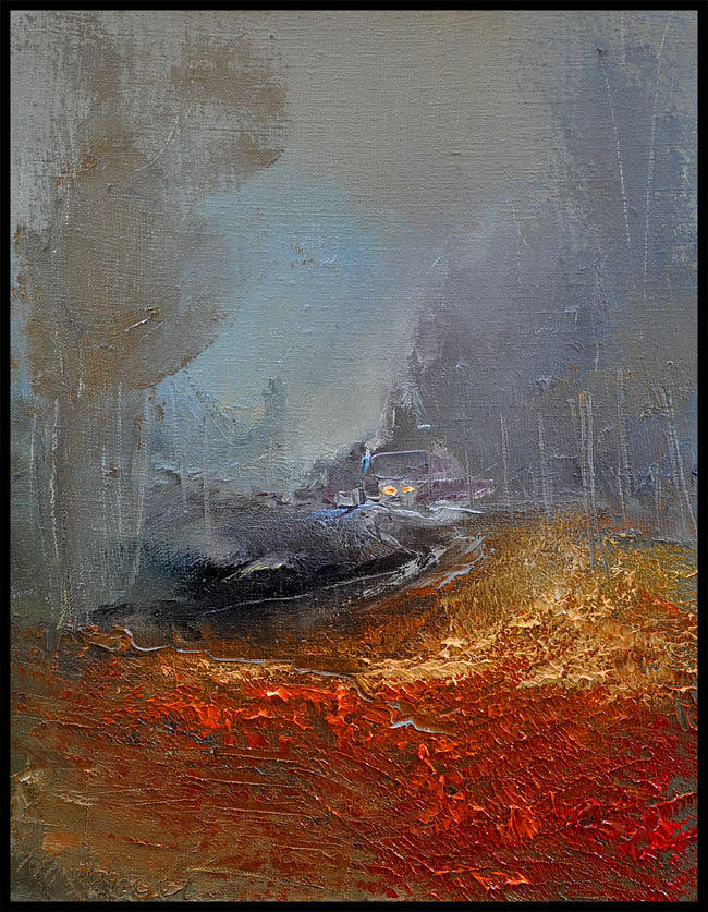 Way Home Series Painting by David Figielek