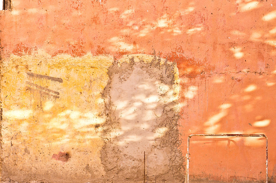 Abstract Photograph - Weathered Wall by Tom Gowanlock