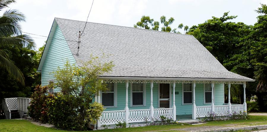 Color Photograph - Webster Cottage by Amar Sheow