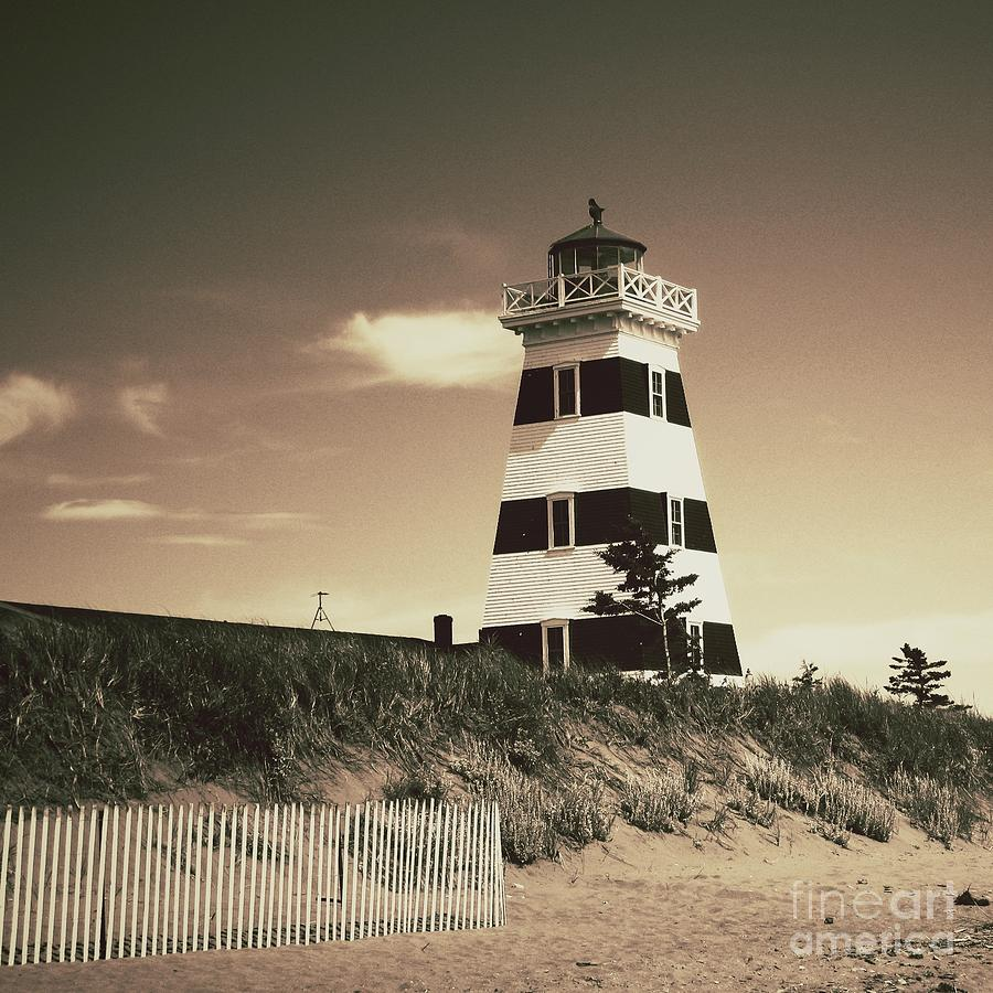 Lighthouse Photograph - West Points Light by Meg Lee Photography