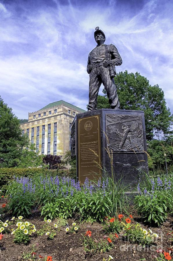 Coal Photograph - West Virginia Coal Miner by Thomas R Fletcher