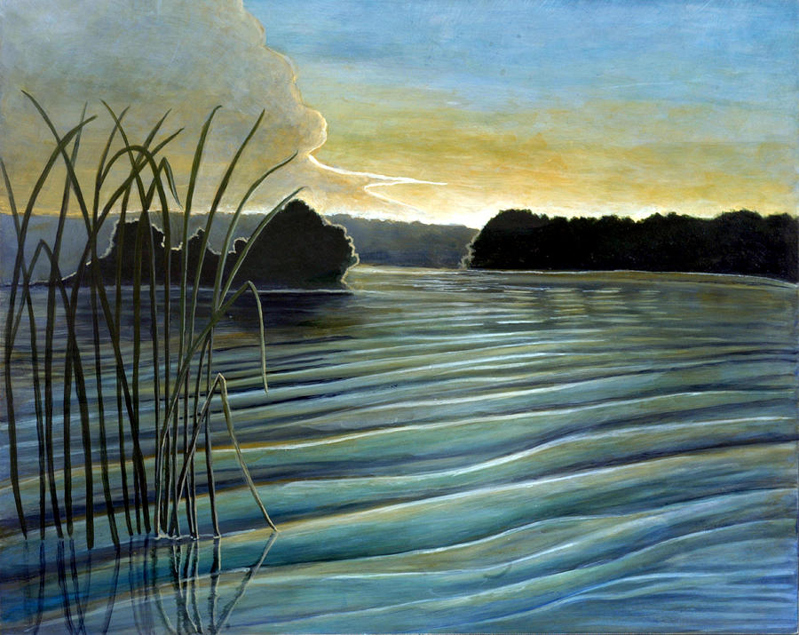 Sunrise Painting - What a beautifull morning by Rick Huotari