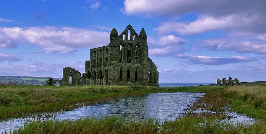 Whitby Photograph - Whitby Abbey by Trevor Kersley
