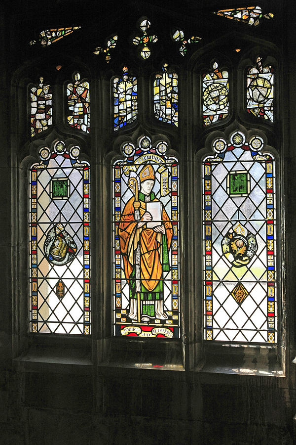 Stained Photograph - Windows by Chris Smith