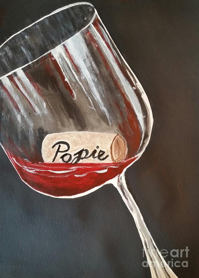 Wine Glass by Carol Duarte