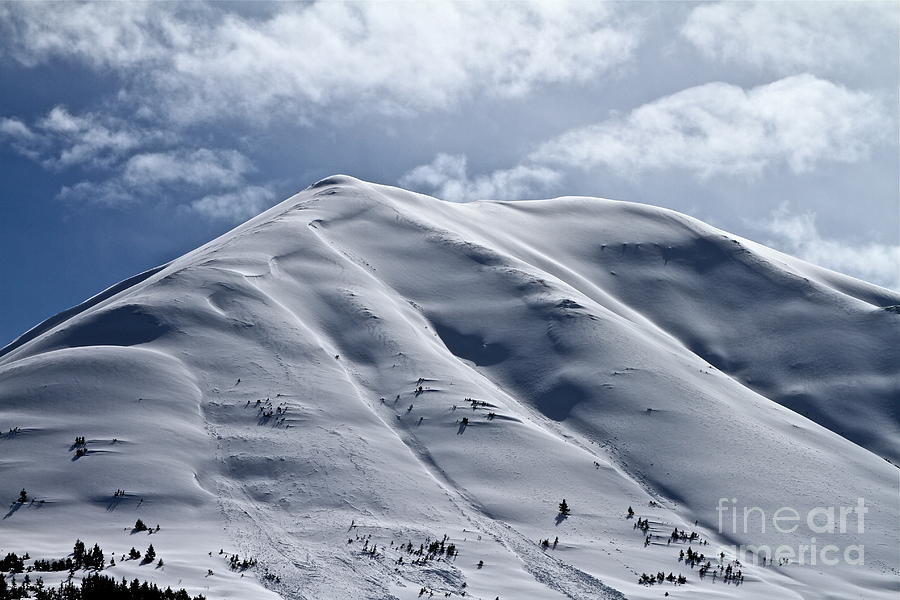 Mountain Photograph - Winter Blanket by Rick  Monyahan