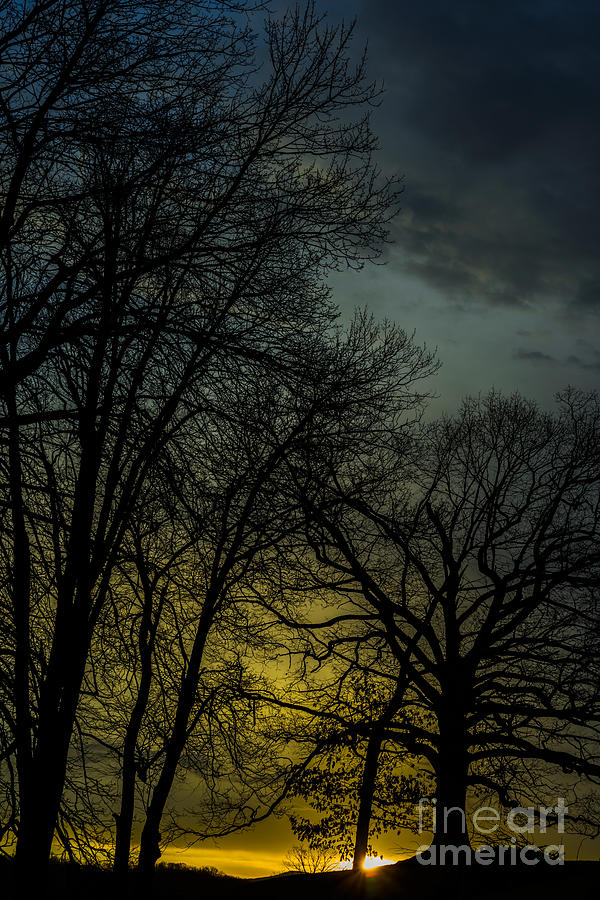 Sunrise Photograph - Winter Solstice Sunrise by Thomas R Fletcher
