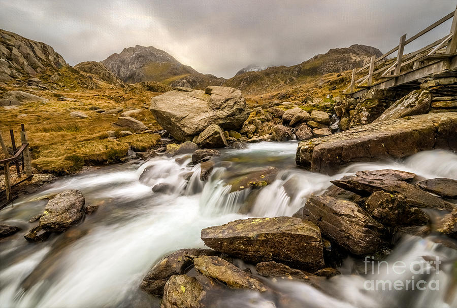 British Photograph - Winter Stream by Adrian Evans