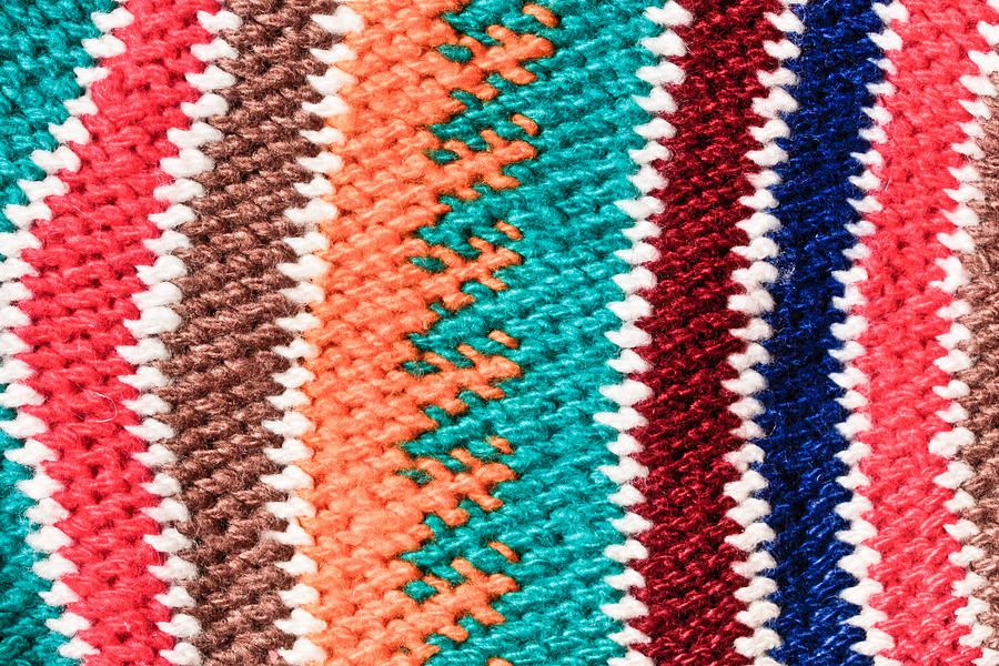 African Photograph - Wool Pattern by Tom Gowanlock