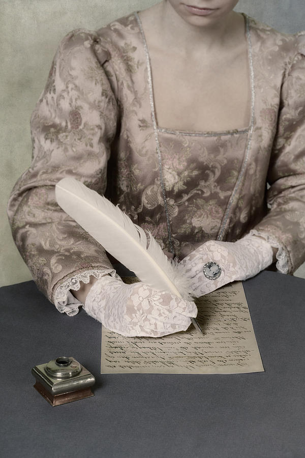 Woman Photograph - Writing by Joana Kruse