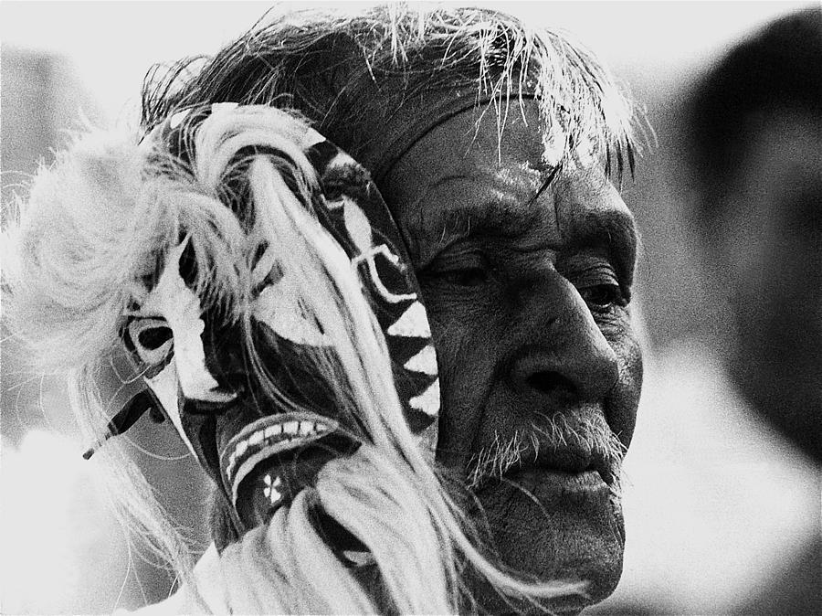 Yaqui Pascola Dancer New Pascua Tucson Arizona 1969 Photograph by David Lee Guss