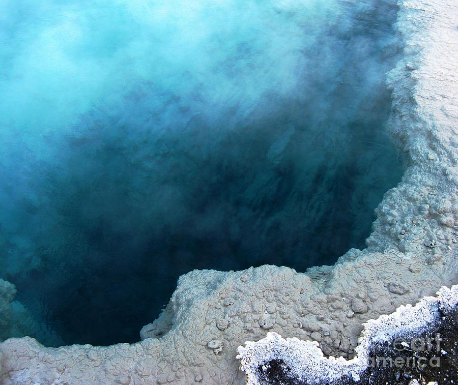 Yellowstone National Park Photograph - Yellowstone Blue by Patricia Januszkiewicz