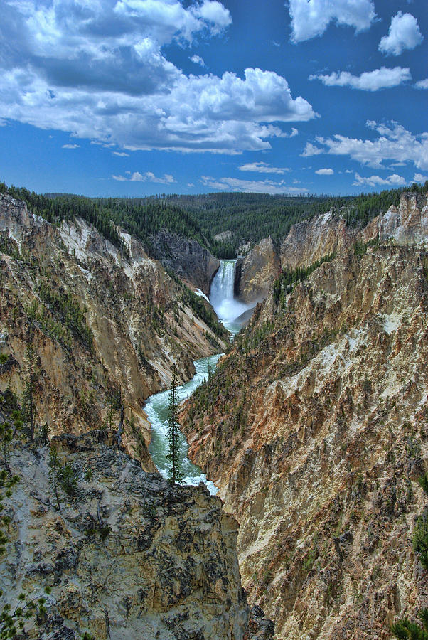 Yellowstone River Photograph - Yellowstone River  by Allen Beatty