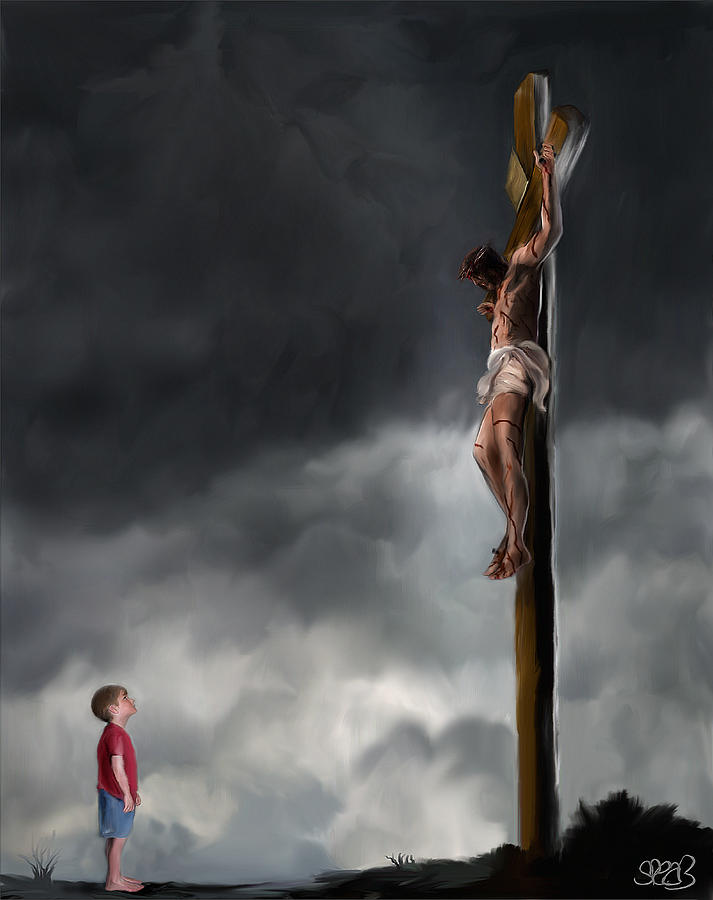 Billy Graham Painting - Yes Jesus Loves Me by Mark Spears