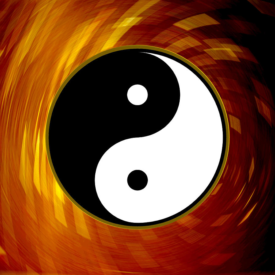 Yin Photograph - Yin And Yang by Daryl Macintyre