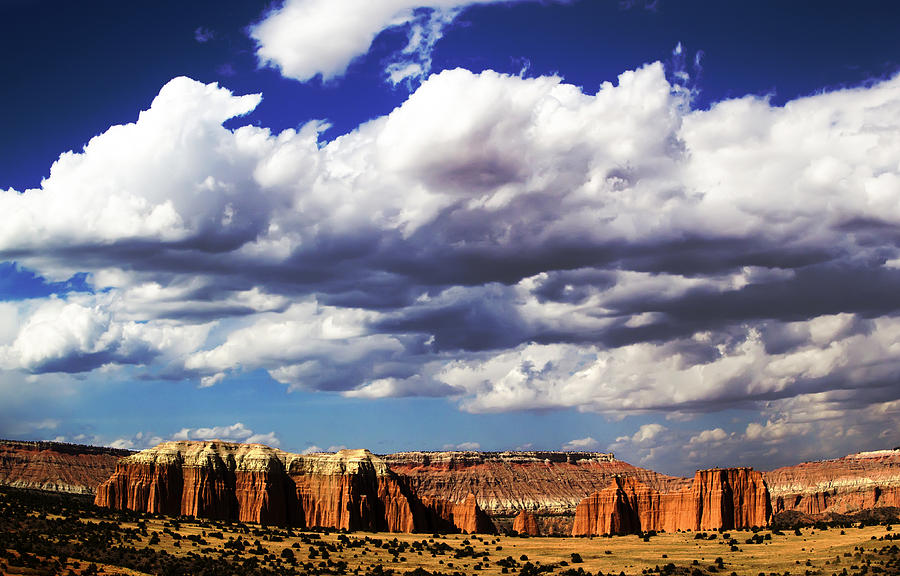 Park Photograph - Capitol Reef National  Park Cathedral Valley by Mark Smith
