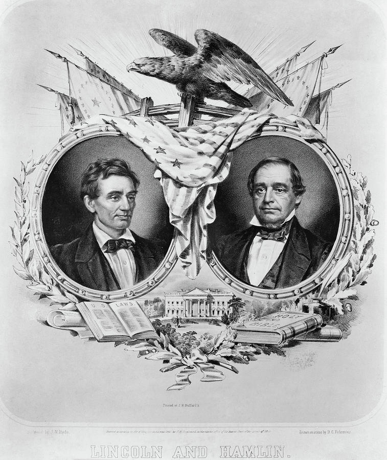 1860 Painting - Presidential Campaign, 1860 by Granger