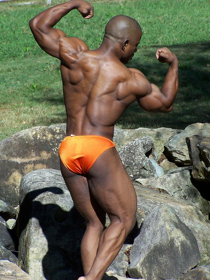 Double Bi Photograph - The Art Of Muscle by Jake Hartz