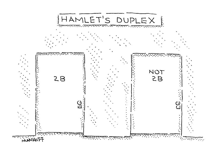 Shakespeare Drawing - New Yorker August 3rd, 2009 by Robert Mankoff