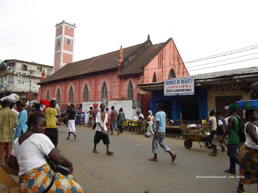 200 Year Old Methodist Church-sani Abacha Street  Photograph by Mudiama Kammoh