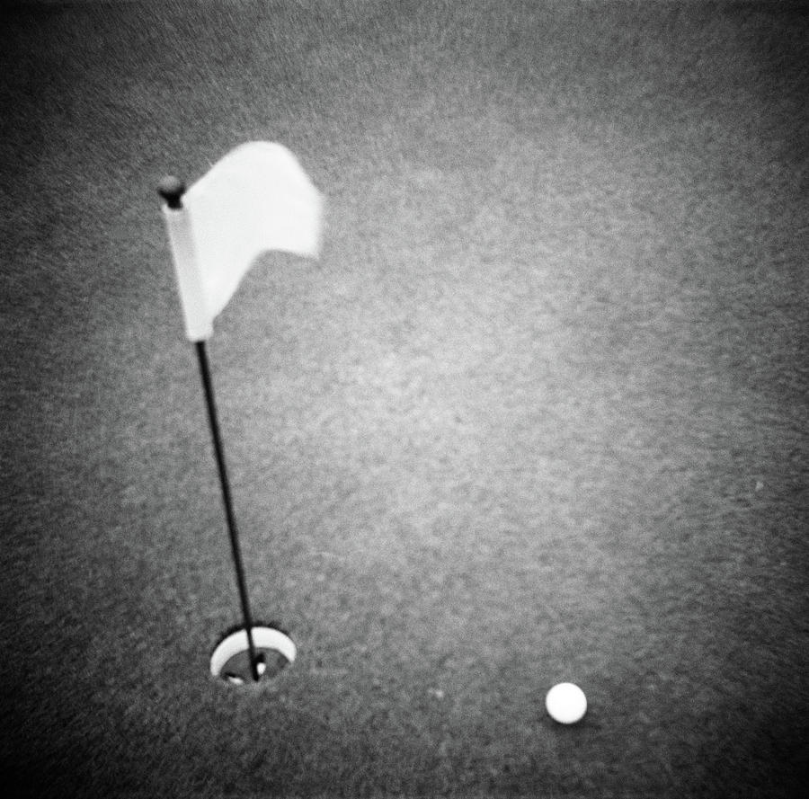 2000s Golf Ball On Putting Green Photograph By Vintage Images