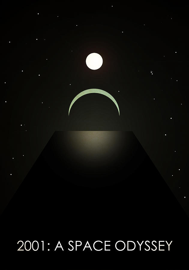 2001: A Space Odyssey Digital Art - 2001 A Space Odyssey by Anton Lundin