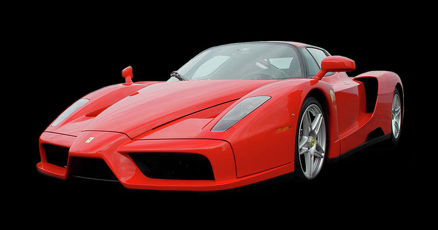 Rear Wheel Drive Photograph - 2002 Enzo Ferrari 400 by Jack Pumphrey