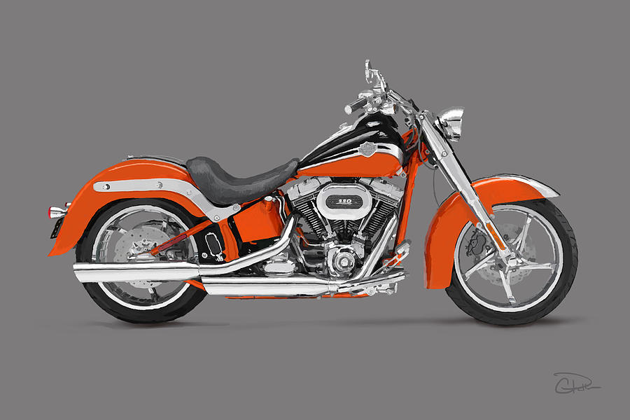Harley Davidson Softail Convertible Cvo For Sale