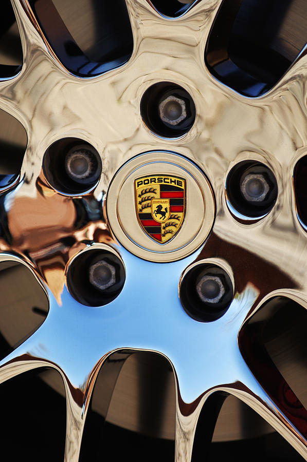 Car Photograph - 2010 Porsche Panamera Turbo Wheel by Jill Reger