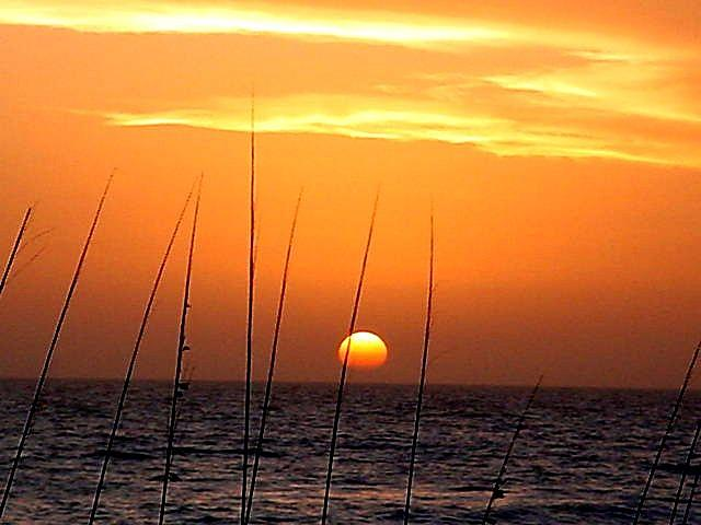 Sunset Seascape Bradenton Beach Florida  Photograph - 2011-02 by Bruce Kessler