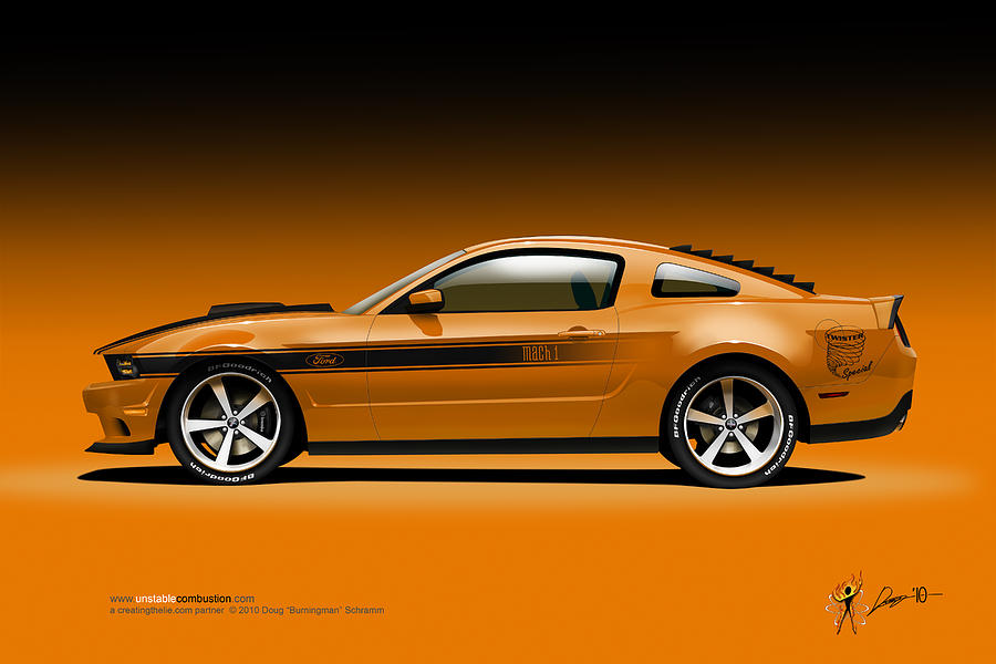 2011 Ford Twister Mustang by Doug Schramm