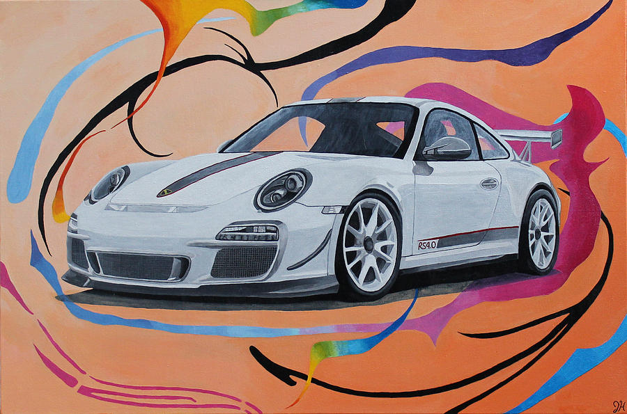 2011 Porsche 911 Gt3 Rs 4 0 Painting By Jennifer Hayes
