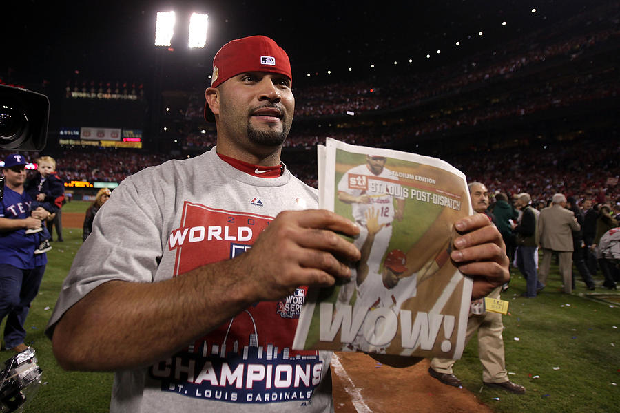 2011 World Series Game 7 - Texas Rangers v St Louis Cardinals Photograph by Ezra Shaw