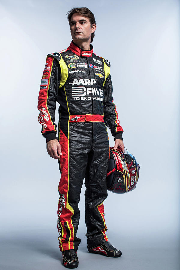 2013 Nascar Sprint Cup Series Stylized Photograph by Nick Laham