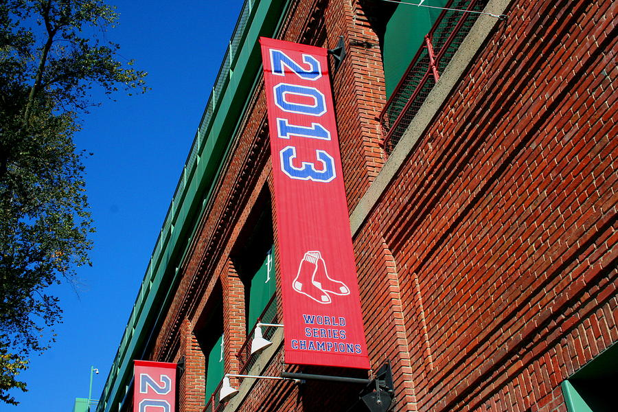Fenway Park Photograph - 2013 World Series Champions by Stephen Melcher