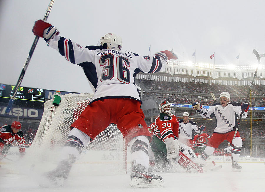 2014 Coors Light Nhl Stadium Series - Photograph by Bruce Bennett